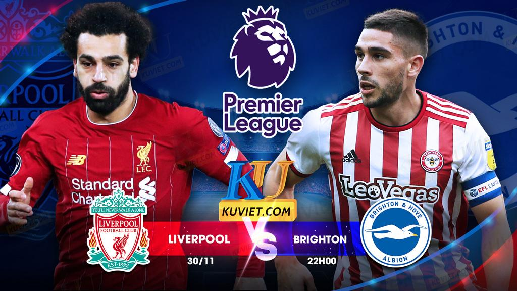 soi kèo Liverpool vs Brighton