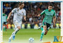 Soi kèo Real Betis vs Real Madrid 03h00 09/03/2020 La Liga